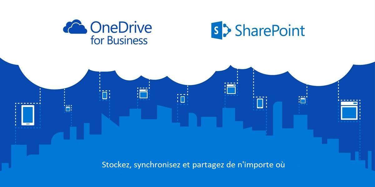 Choisir entre OneDrive Entreprise et SharePoint
